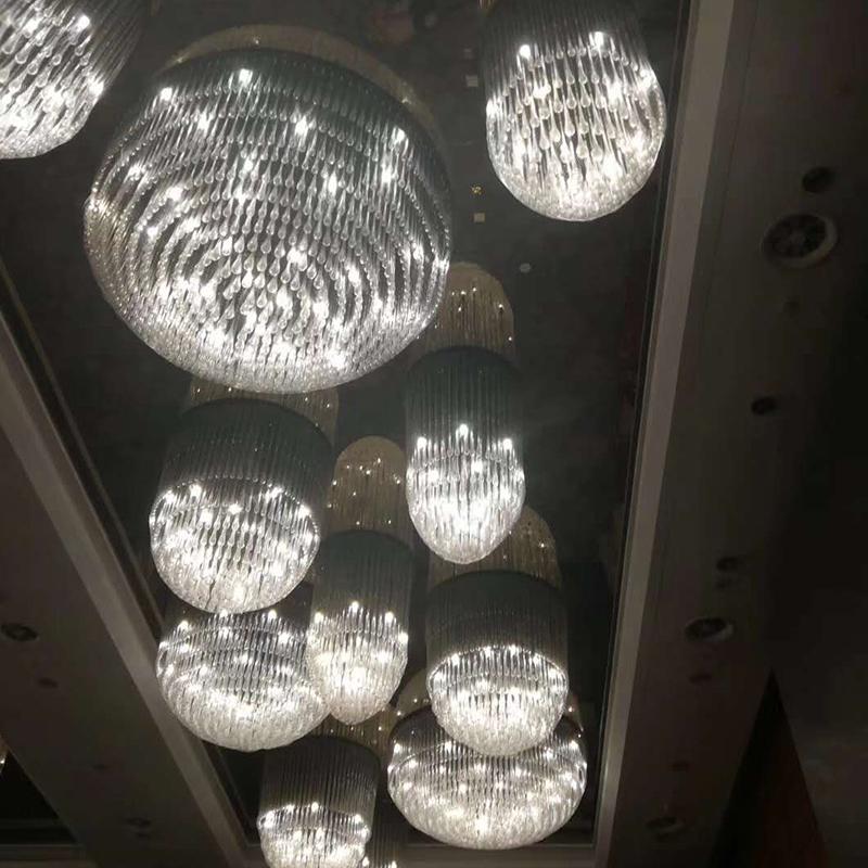 南桥绿地铂丽酒店水晶灯