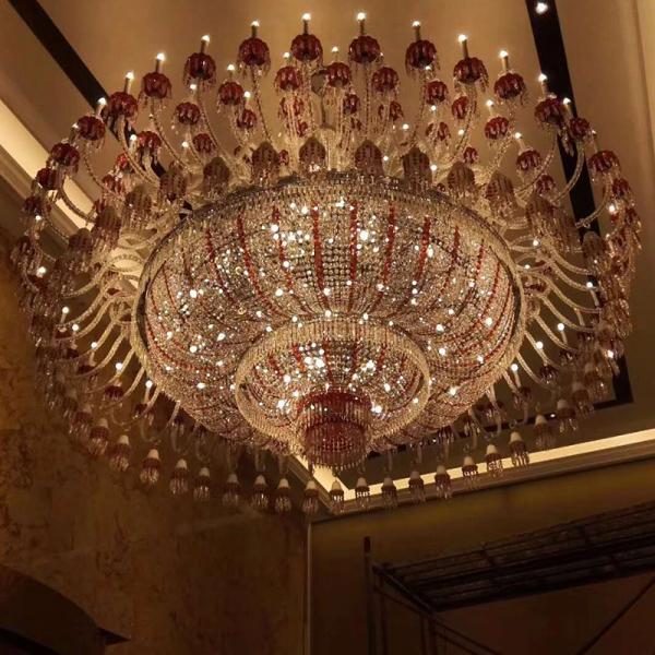 米兰洲酒店水晶灯