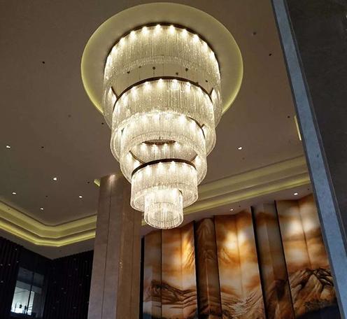 如何从形形色色的各种酒店水晶灯找到合适的