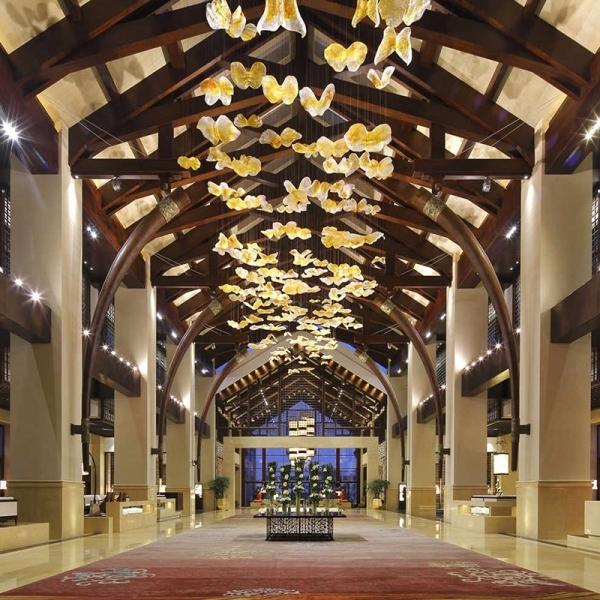 关于酒店照明设计的层次