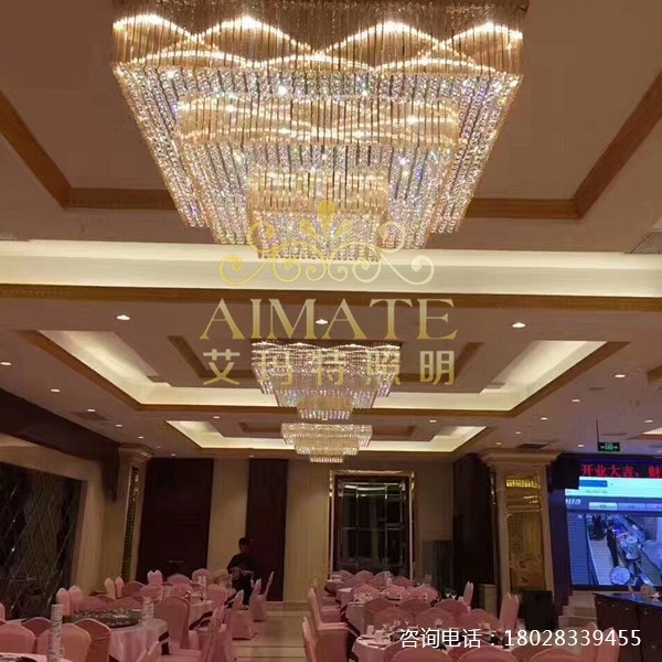 酒店水晶灯价格的影响因素主要那些方面