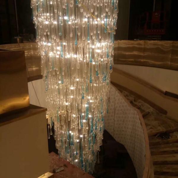 一个酒店餐厅水晶吊灯生产制造要多长时间才可以生产制造出去?