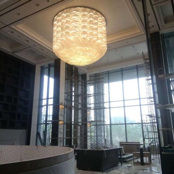 酒店水晶灯材质有何区别呢?