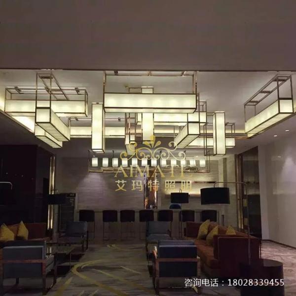 广东宴会厅水晶灯