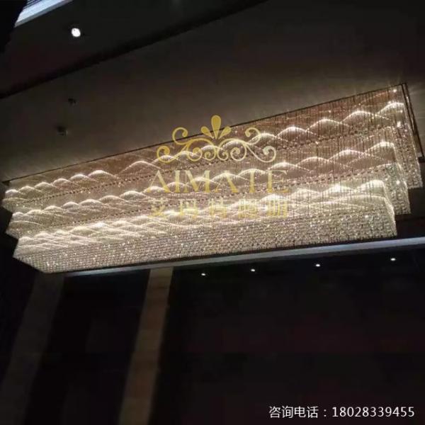 广东大型水晶灯